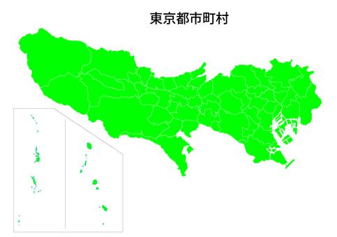 【高精細】東京都地図