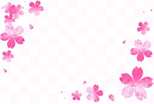 Cherry background frame 3