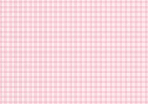 Check pattern fine pink