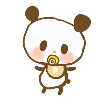 Panda baby 2