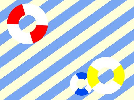 Summer sea breeze wallpaper