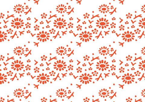 Japanese pattern ◆ Hatsuharu