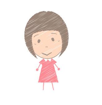 A small person