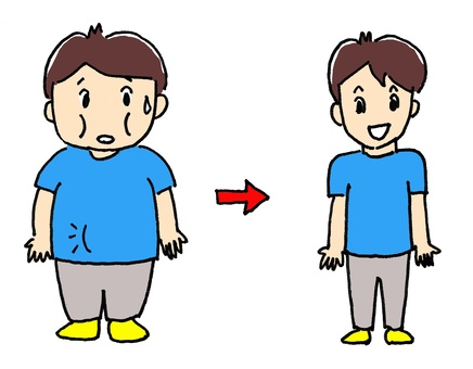 Male Before After Diet