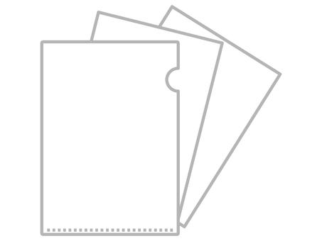 Clear file B & W