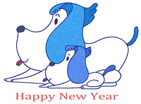 新年和元旦的插圖.45