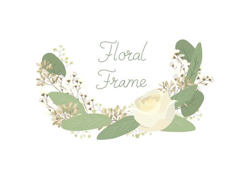 Flower frame 01-03