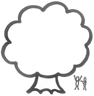 大木 a big tree