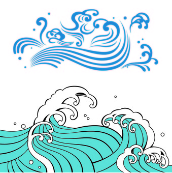 Wave illustration