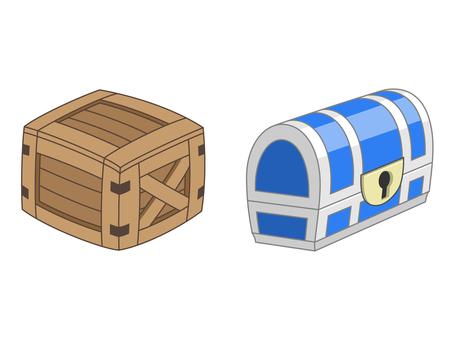 Item - Wooden Box - Treasure Box