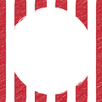 Square striped background (red)