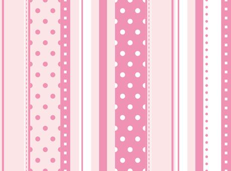 Stripe pattern pink