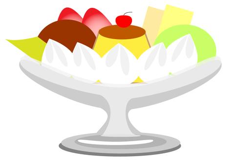 Pudding Ala Mode A4