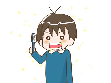 Toothbrush boy