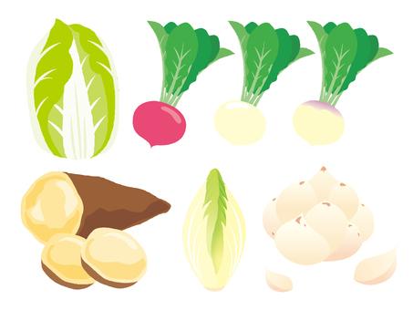 冬天的蔬菜