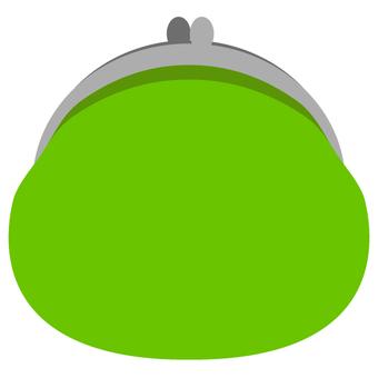 Purse wallet (green