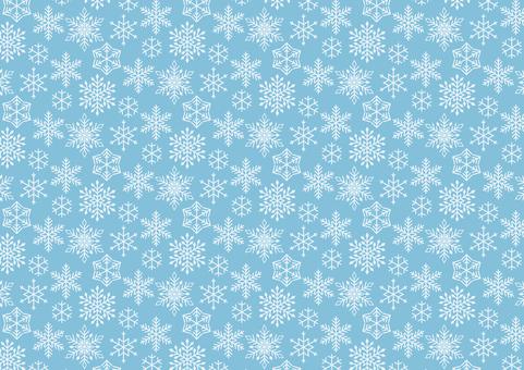 雪の結晶のパターン