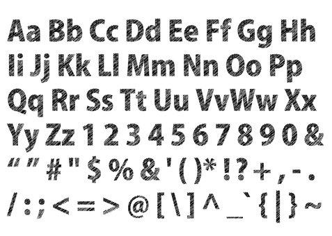 Character 11_03 (Alphabet / Symbol)