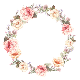 Lease 2 - Classical rose garland