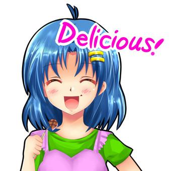 Sora facial expression ⑩ Delicious! ! .