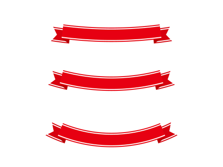 Ribbon 14 wire - red