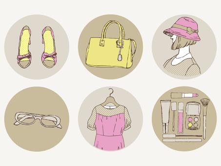 Female fashion illustration