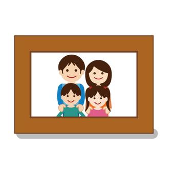 フォトスタンド(家族)