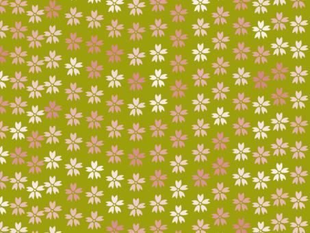Chiyogami Sakura 1 (Yellow)