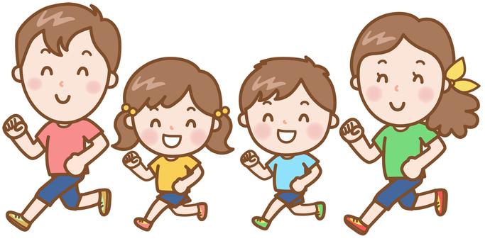 Jogging: Family