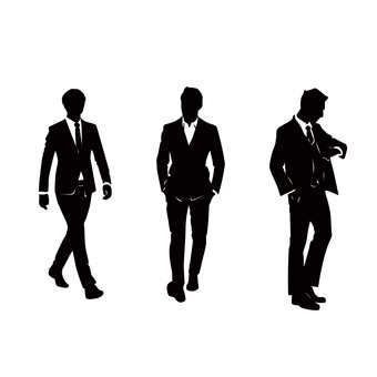 Suit silhouette