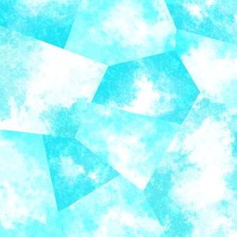 Watercolor background material 02 / blue a