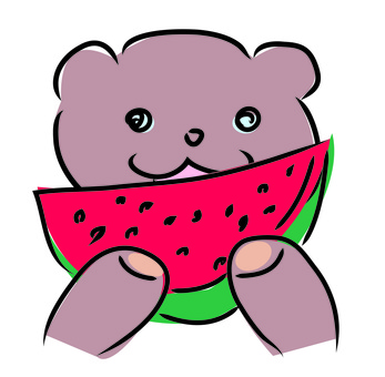 Bae wakaru watermelon