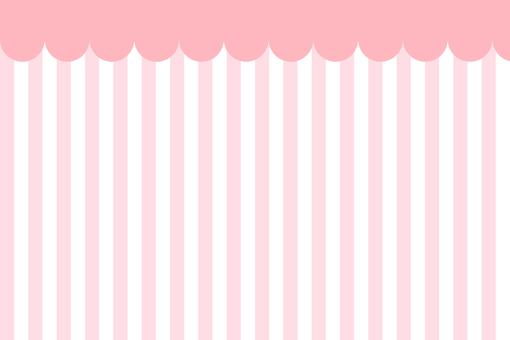 천막 바람 배경 핑크