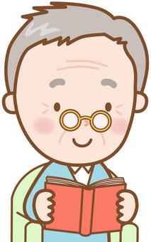 老祖父:讀書