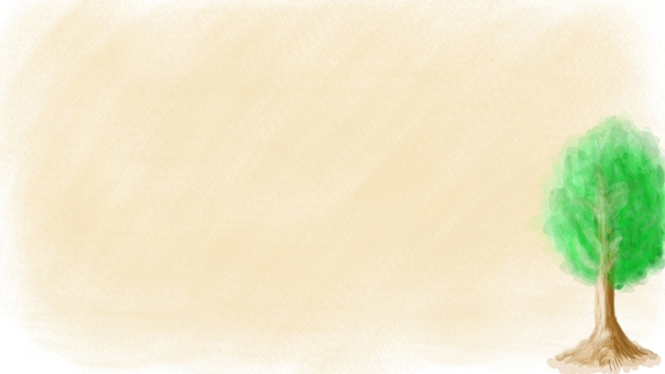 1 tree beige background