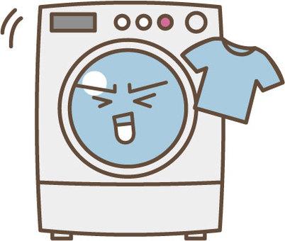 세탁기 캐릭터 2
