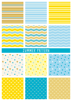 Summer pattern set