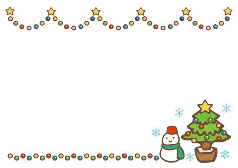冬季材料聖誕節110