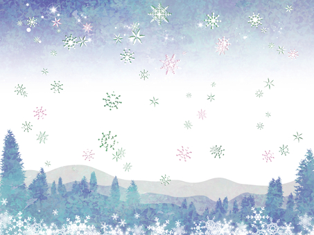 Winter trees 01