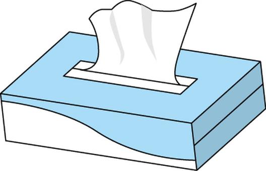 Tissue box paper