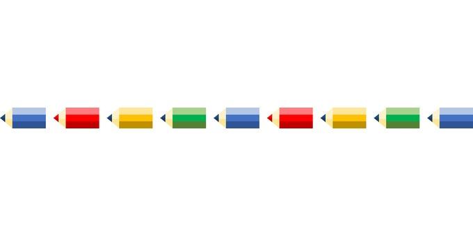 Dividing line (pencil)
