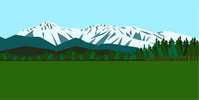 Yatsugatake_100 famous mountains