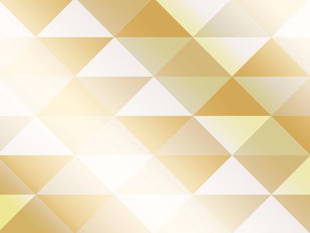 Textured triangular mosaic gold
