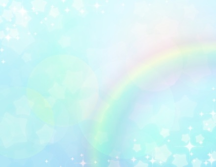 Yume cute _ light blue _ star rainbow