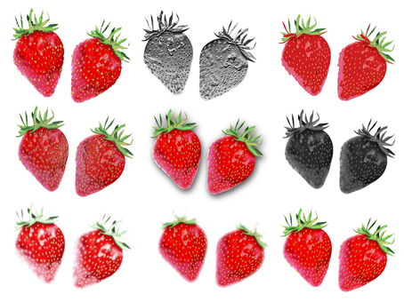 Strawberry Various art set