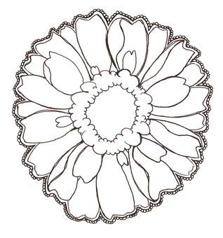 Flower card