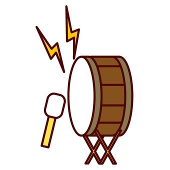 Cheering drum's drum