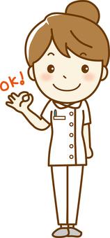 Nurse whole body 05