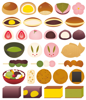 How about Japanese sweets?