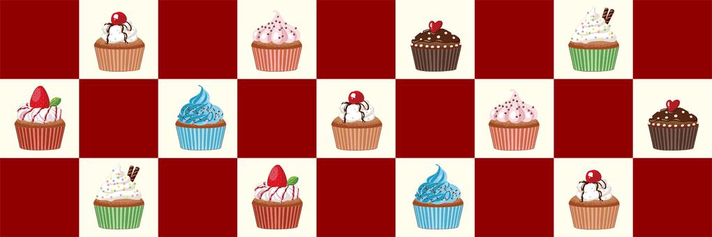 Cupcake header